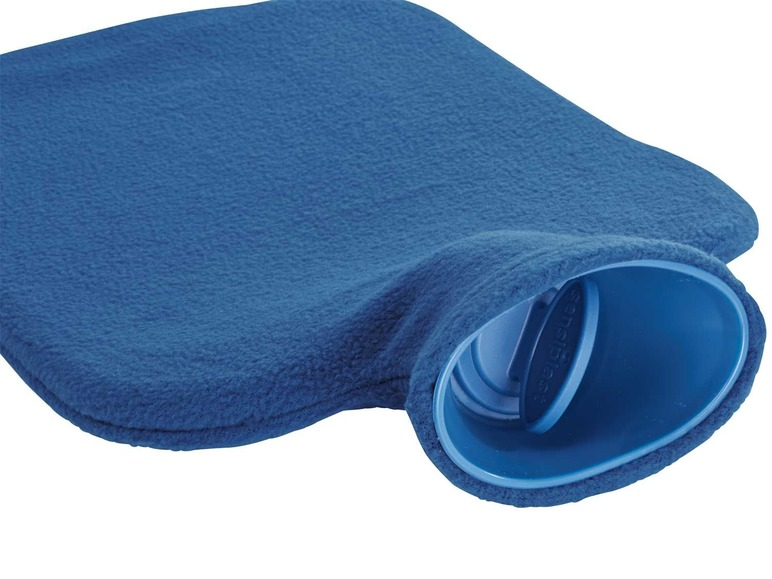 2 L warmwaterkruik + bijpassende fleece hoes (afneembaar) Image