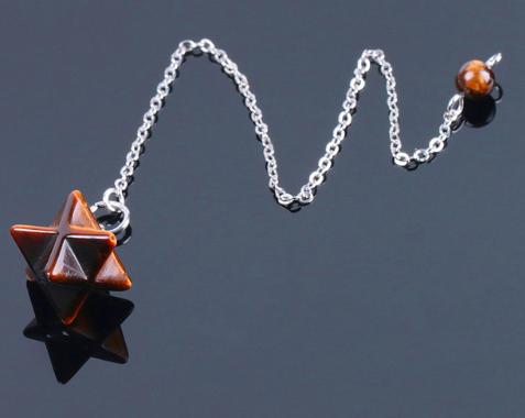 Merkaba pendulum tijgeroog Image