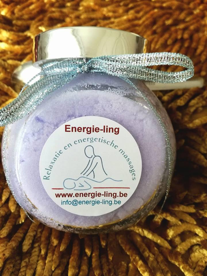 Lavendel bodyscrub 300 G + lepeltje Image